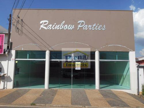 Salão Para Alugar Com 280 M² - Jardim Marchissolo - Sumaré/sp - Sl0464