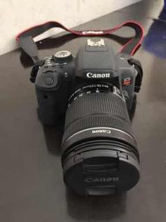 Cámara Canon Eos Rebel T6i