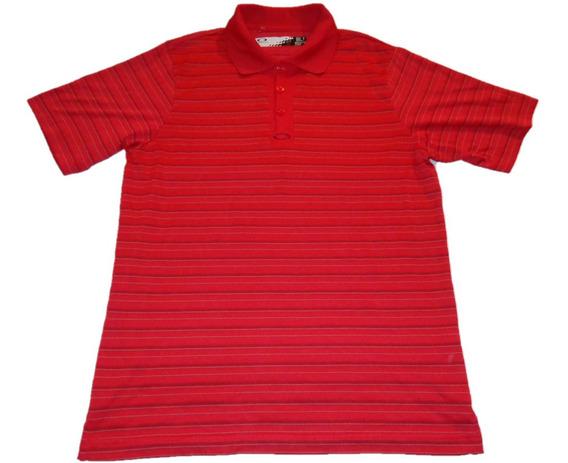 Oakley Playera Polo De Caballero Talla M Roja Nueva, Golf