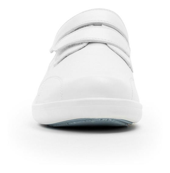 Zapato Dama Choclo Servicio Enfermeria Flexi 32604 Blanco