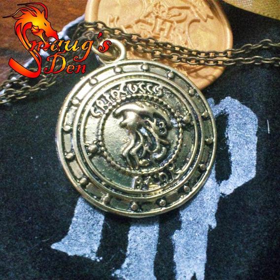 Colar Do Banco Gringotes Harry Potter - Pronta Entrega