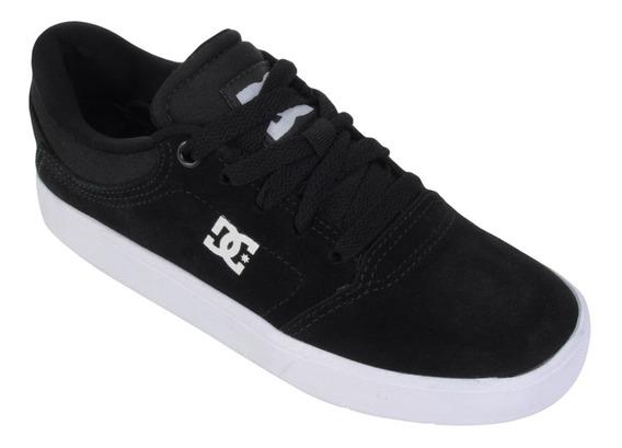 Tênis Dc Shoes Crisis La Preto E Branco