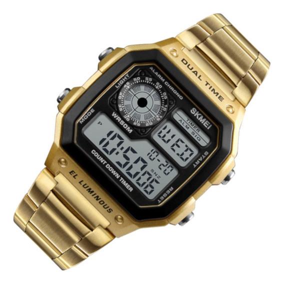 Relógio Masculino Skmei 1335 Dourado