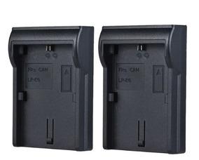 2 Plates Bateria Canon Lp-e6 Cerragador Digital Com Lcd