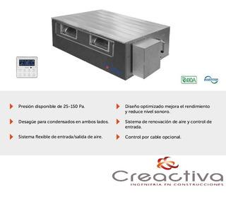 Condensadora Y Evaporadora Conducto Inverter 12000 Kcal