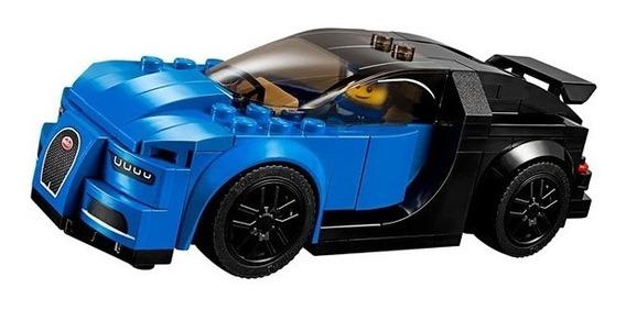 Uma Caixa Sy Lego Fast Champions Bugati - Mclaren