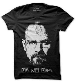 Camiseta,camisa Breaking Bad Série Todos Tamanhos