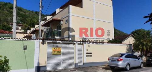Casa De Rua-à Venda-jardim Sulacap-rio De Janeiro - Agv73387