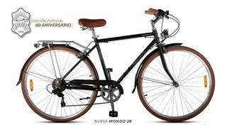 Bicicleta Paseo Aurora Mondo Rodado 28 6v Shimano + Led