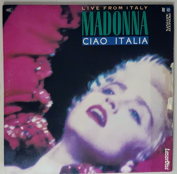 Laserdisc Madonna Ciao Italia