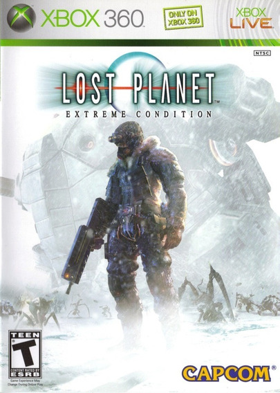 Jogo Lost Planet Extreme Condition Xbox 360 X360 Original