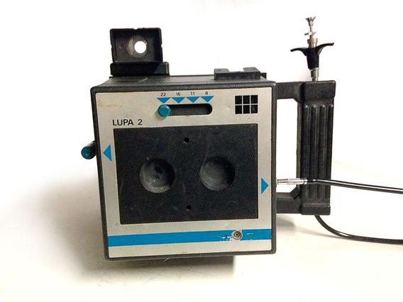 Câmera Fotográfica Polaroid Lupa 2 Objeto De Decoração