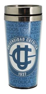 Mug Térmico Universidad Católica Uc / Santiago Boxer