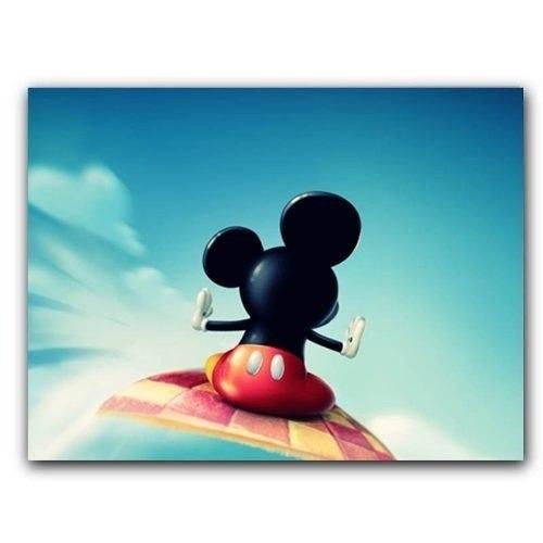 Placa Decorativa Mdf Ambientes 20 Cm X 30 Cm - Mickey (bd11)