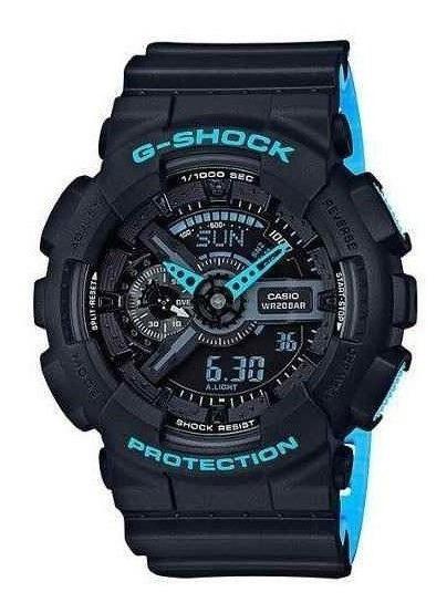 Relógio Casio Masculino G-shock Preto Ga110ln1adr