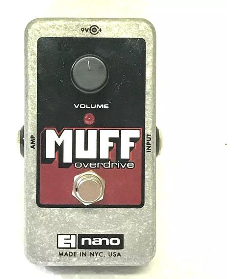 Pedal Muff Overdrive El Nano Electro Harmonix - Usado!