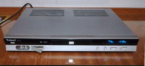 Grabadora Y Reproductora Dvd Talent Dvr-600
