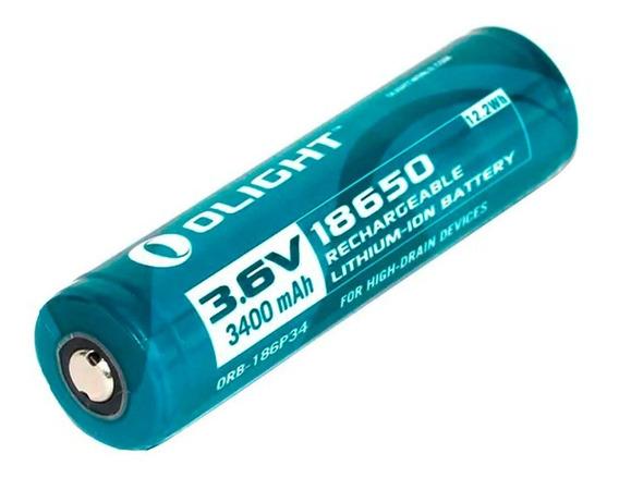 Bateria Recarregável Olight 18650 3400mah 3,6v