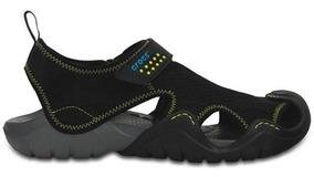 Sandalia Crocs Caballero Swiftwater Sandal Negro
