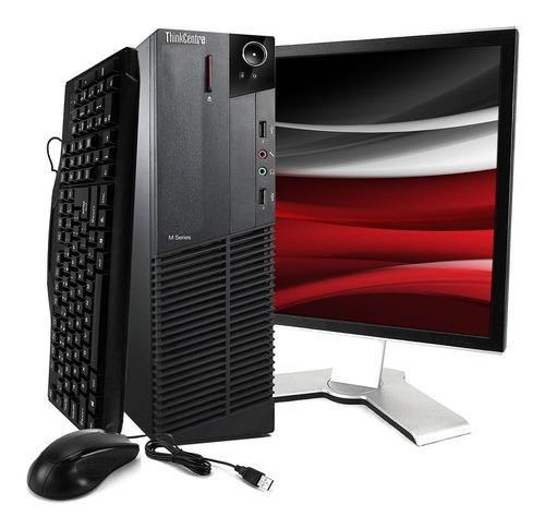 Imagem 1 de 8 de Computador Lenovo M92 I5 3ªg 4gb Ssd 240gb + Monitor 17
