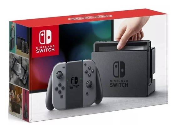 Console Nintendo Switch 32gb Cinza Gray - Novo - Original