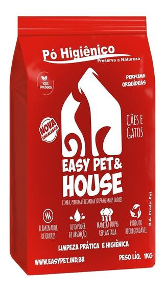 Pó Higiênico Easy Pet & House Orquídeas - 1 Kg