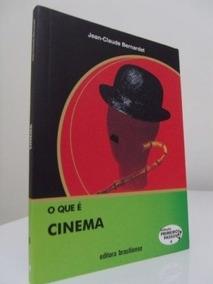 Livro O Que É Cinema- Novo