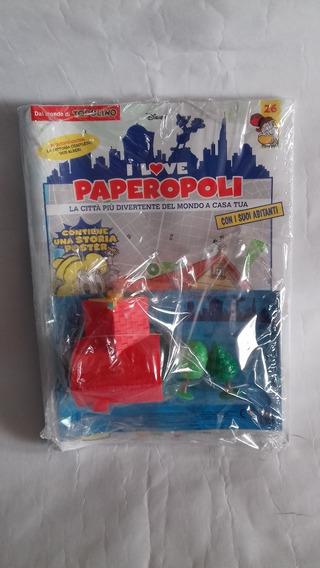 Lote I Love Paperopoli - Construindo Patopolis Bonellihq H19