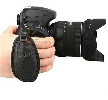 Alça De Mão Hand Grip Strap Canon Nikon Sony Fuji Panasonic.