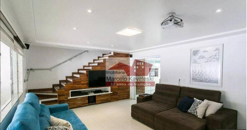 Sobrado Com 4 Dormitórios, 270 M² - Venda Por R$ 1.350.000,00 Ou Aluguel Por R$ 6.500,00/mês - Mooca - São Paulo/sp - So3336