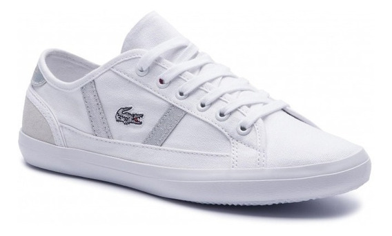 Zapatillas Lacoste Sideline 219 1 Blanco 21g Gris 2q5
