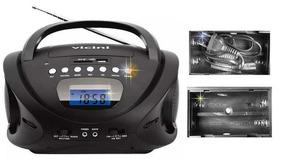 Rádio Am Fm Mp3 Usb Relógio Gravador Voz Cartão Sd