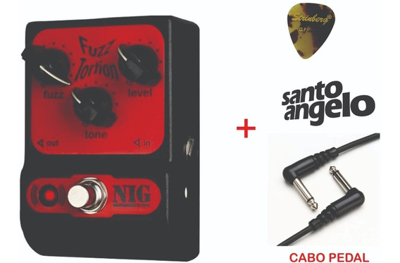 Pedal Nig Fuzz-tortion Pft + Cabo Pedal