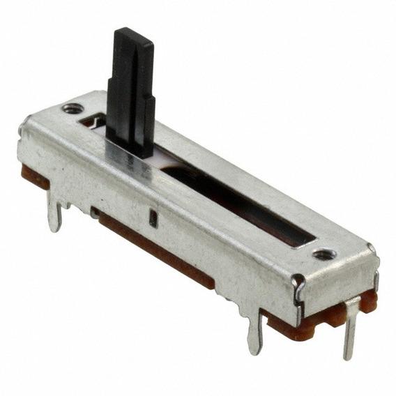 Potenciometro Deslizable 100k Ohms Lineal Arduino Nubbeo