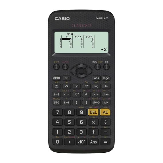 Calculadora Científica Casio Preta Com 274 Funções