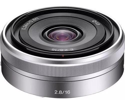 Lente Sony 16mm F/2.8 E Sel16f28