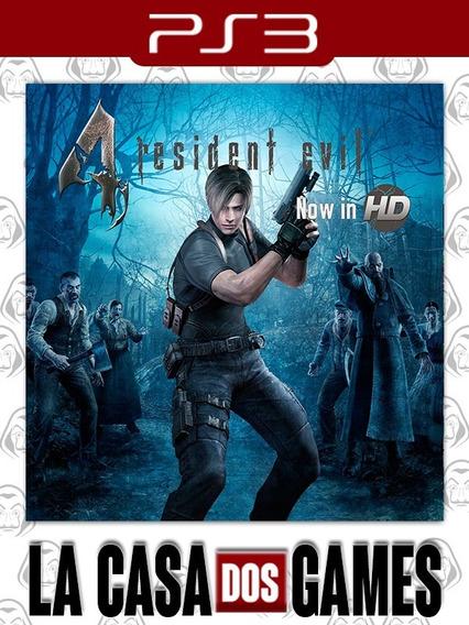 Resident Evil 4 Hd - Psn Ps3 - Envio Imediato