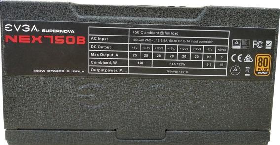 Fonte Evga Supernova Nex750b 750w Power Supply