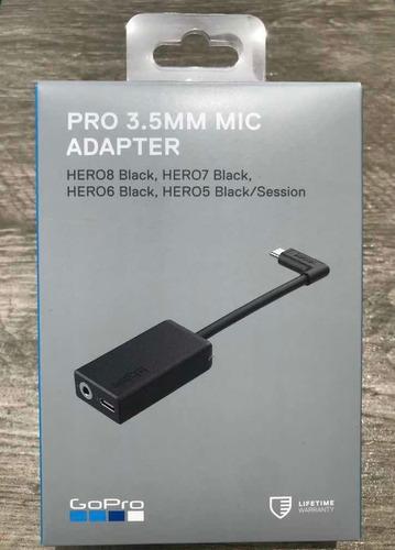 Adaptador Para Microfono Camara Gopro 3.5mm 5 7 8 Black