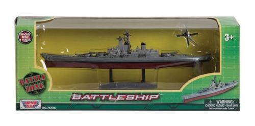 Militar Guerra Escala Helicóptero Barco De Guerra (23 Cm)