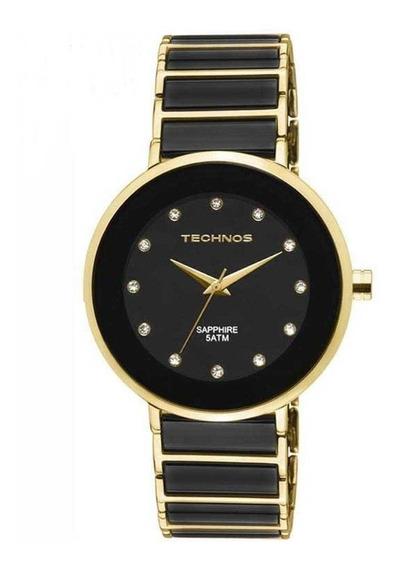 Relógio Technos Feminino Cerâmica Safira 2035lmm/4p