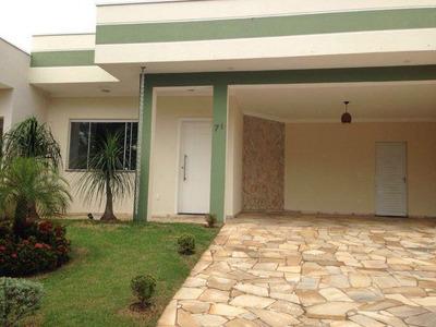 Vende-se Casa Térrea Em Condomínio Fechado - Paulínia/sp - 4671ac