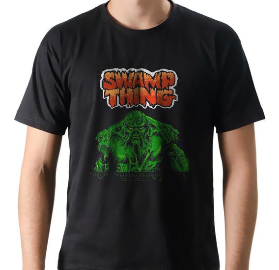 Camiseta Camisa Geek Nerd Game Jogo Monstro Do Pântano Nes