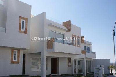 Hermosa Casa En Renta Cumbres De Juriquilla K1076
