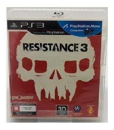 Jogo Resistance 3 Playstation 3 Ps3 Usado