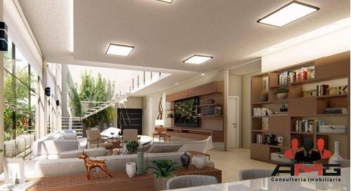 Casa Com 5 Dormitórios À Venda, 580 M² Por R$ 9.000.000,00 - Riviera - Módulo 17 - Bertioga/sp - Ca0906