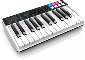 Irig Keys I/o 25 Ik Teclado Controlador Midi Usb Ios Mac Pc