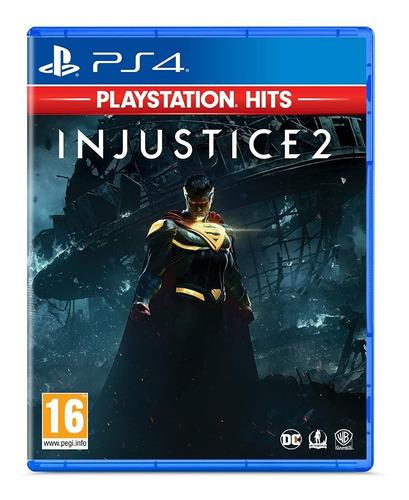 Injustice 2 Ps4 Midia Fisica Novo Portugues Lacrado