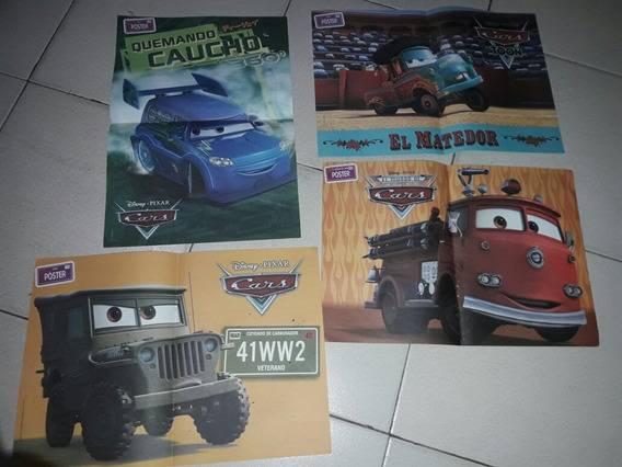 Lote Posters De Cars