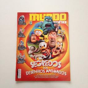 Revista Mundo Estranho Segredos Dos Desenhos Animados Nº158